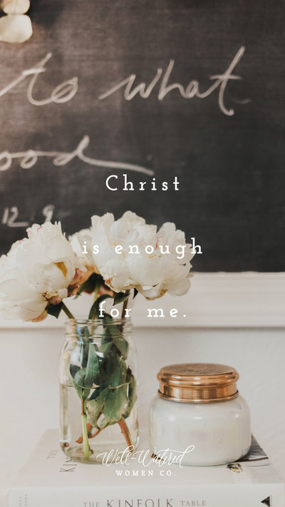Christ Is Enough-Lockscreen