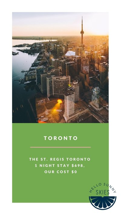 Sharing all the details about our affordable Toronto vacation.