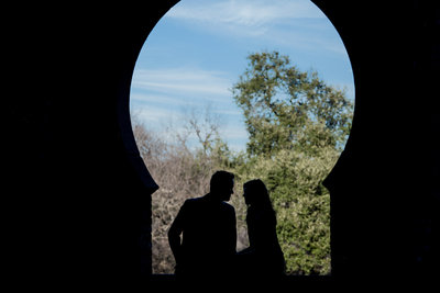 zilker botanical garden engagement session wedding photographer austin texas