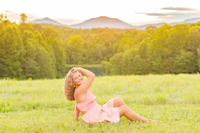 Central Virginia Senior Photographer