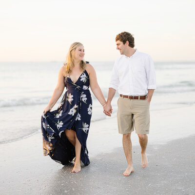 Naples Florida Winter Engagement Session Wedding Airport
