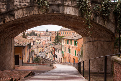 acqueduct in Perugia, Umbria
