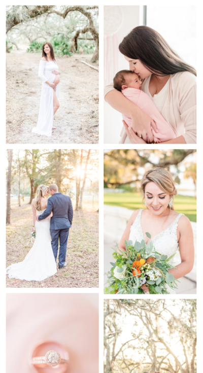 Amy & Jordan photography education student progress | Before & After Brandy Brewner