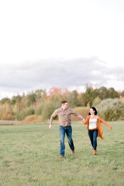 Light and Airy Engagement Session at ALyson's Orchard-1-3