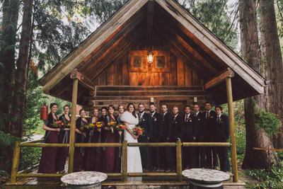 Green Gates at Flowing Lake wedding venue in Snohomish