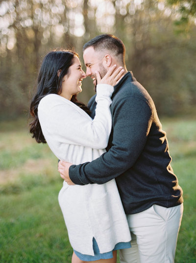 Beautiful outdoor engagement session with Kirsten and Zak at McKeldin Recreational Area in Marriottsville, Maryland.