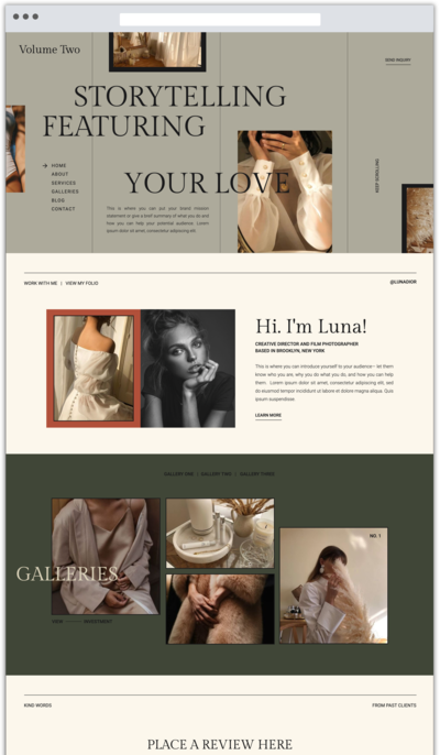 ThirdStory-WebTemplates-WebBrowser-VOLUMETWO