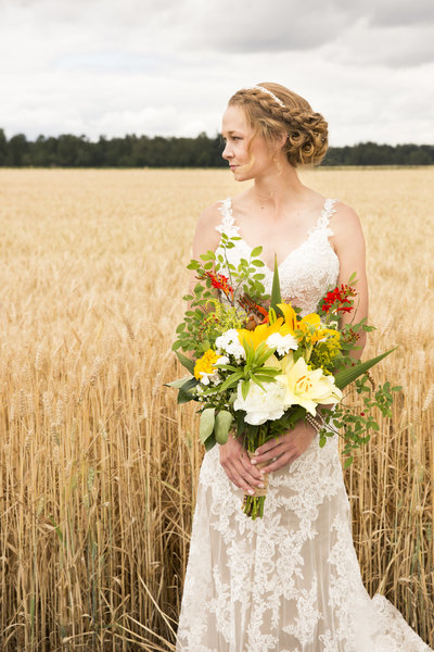 Clarissa Wylde Photography | Oregon small wedding bride