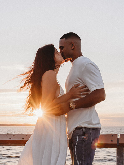 Couple-Portraits-on-Edmonds-Pier-Beach-65