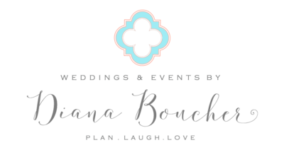 Weddings by Diana Boucher logo