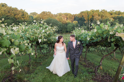 Moutain Rose Vineyards Wise Virginia Summer Outdoor Wedding