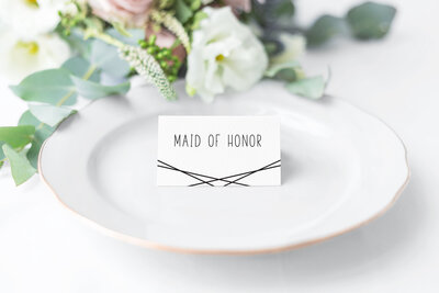 Sophronia Place Card