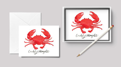 Crabby Thoughts Mockup