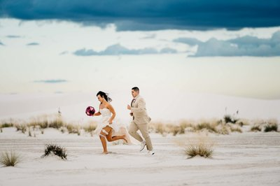 wedding at white sands national park by stephane lemaire photography