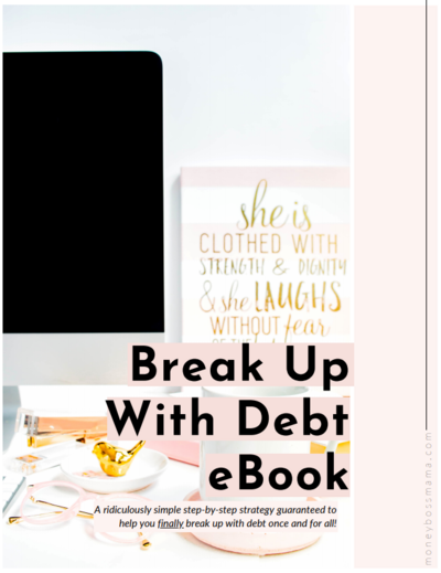 break up with debt ebook cover image