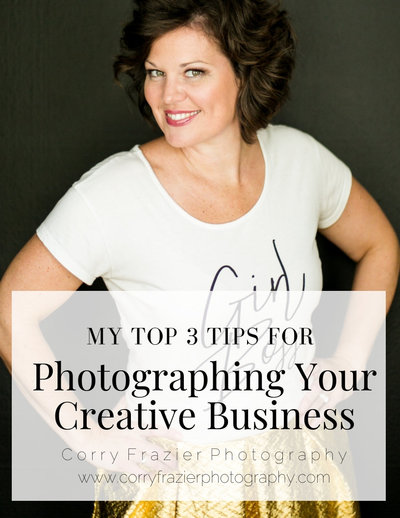 Top 3 Tips for Photographing Your Creative Business