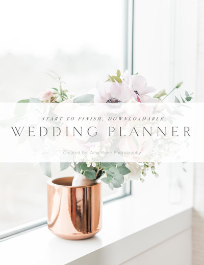 Downloadable Bridal Planner COVER