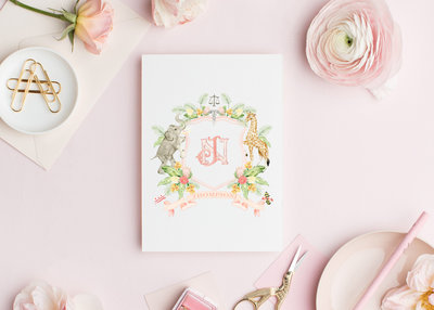 Watercolor-Wedding-Crest-NJ-The-Welcoming-District