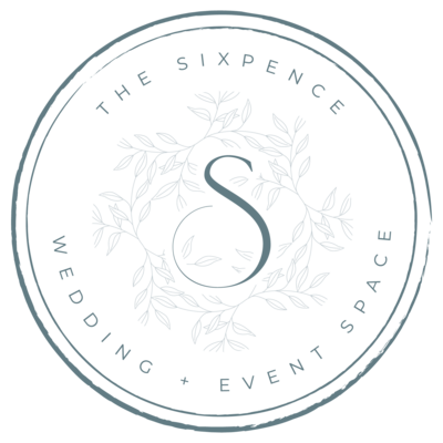 The Sixpence Wedding Event Space Logo
