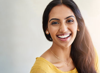 Smiling woman | Annapolis Orthodontics Annapolis, MD