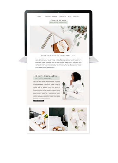 Taaenoelle + Co. |  Branding and Web Designer | Showit Templates | Women Creatives