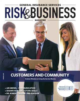 Cover Photo_General Insurance Services_Risk & Business Magazine_Spring 2018