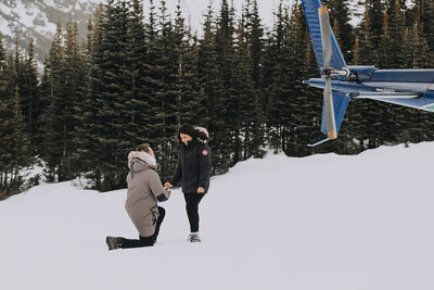Surprise Proposal ideas - Banff helicopter proposal