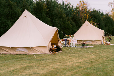 Teepee tents for wedding