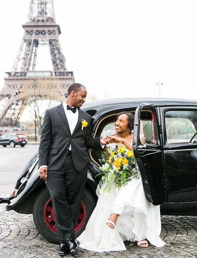 paris elopement photo