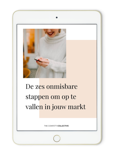 ipad e-book 6 stappen