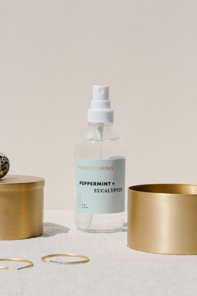 Peppermint + Eucalyptus Home Mist