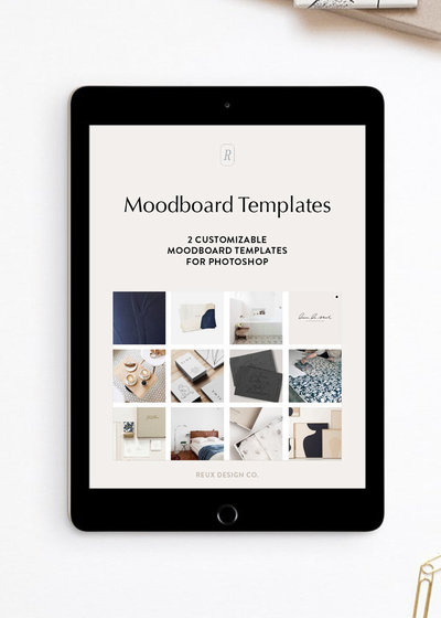 Moodboard Template image