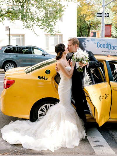 married couple and nyc taxi