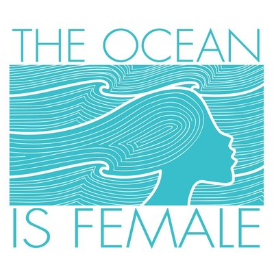 Ocean is Female Logo