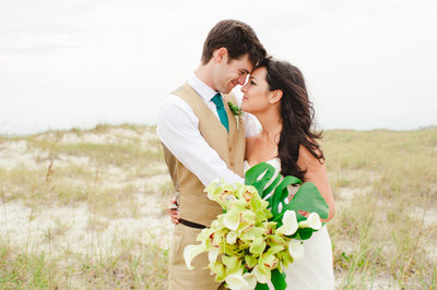 coastal wedding bald head island wedding