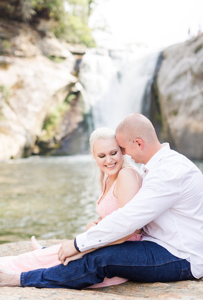 North Carolina Waterfall Engagement Session-2