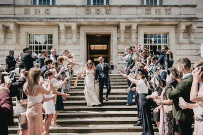 Modern Intimate Wedding in London - Genevieve Photography