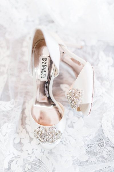 C. elyse photos Badgley Mischka Wedding Shoes