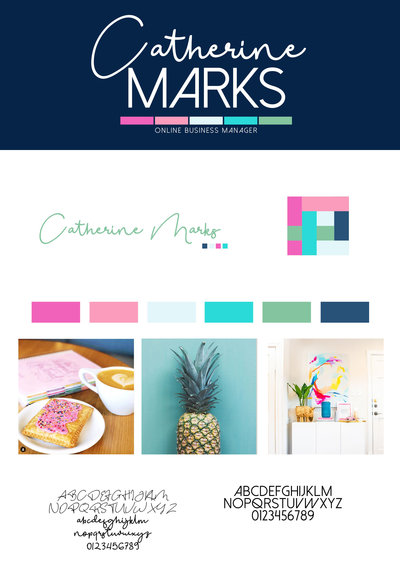 Catherine Marks Brand Board copy