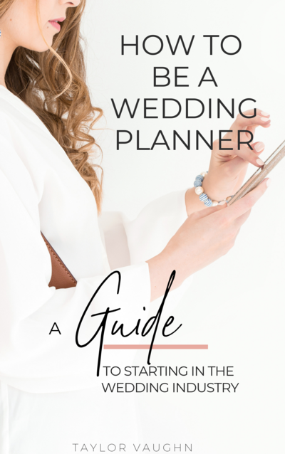 how to be a wedding planner 2019-2