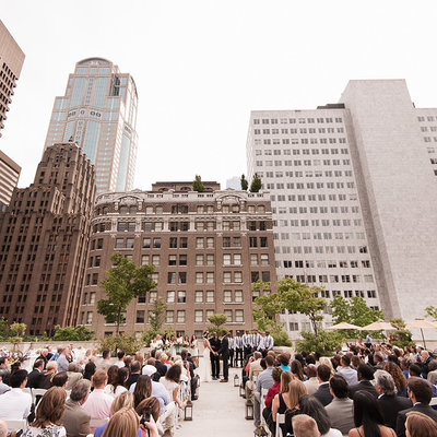 rainier rooftop wedding