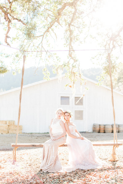 Calistoga Saint Helen Ranch Wedding, same-sex LGBTQ gay + lesbian wedding photographed by Film Fine Art Photographers - Evonne and Darren
