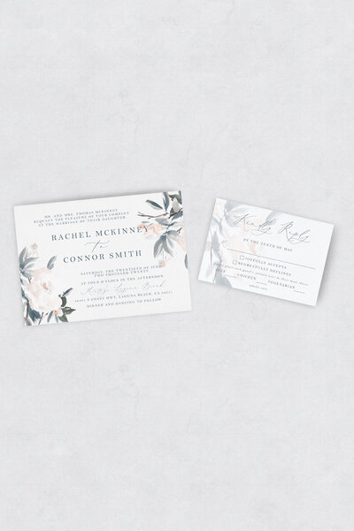 pirouettepaper.com | Wedding Stationery, Signage and Invitations | Pirouette Paper Company | Semi Custom Invitations | The Monroe 05