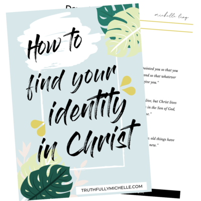How to Find Your Identity in Christ (5)