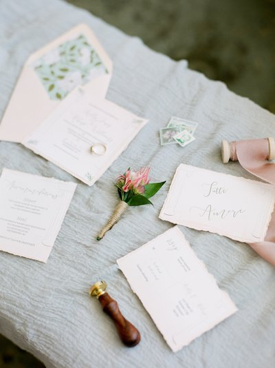 Deckled Invitations