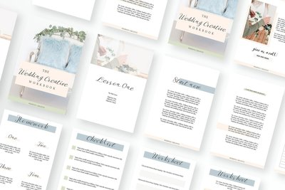 Wedding Creative Workbook