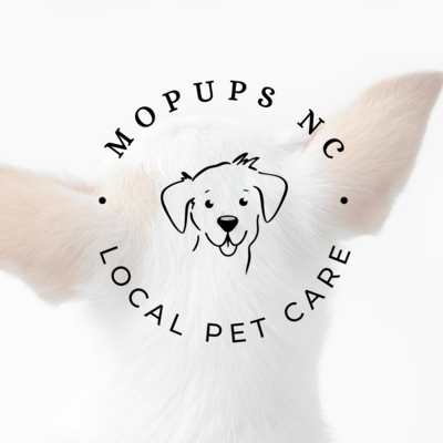 fun dog logo design by Tribble Design Co.