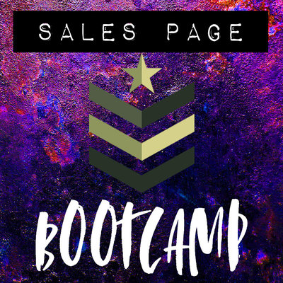 Sales Page Bootcamp