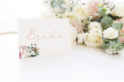 Mary Place Card