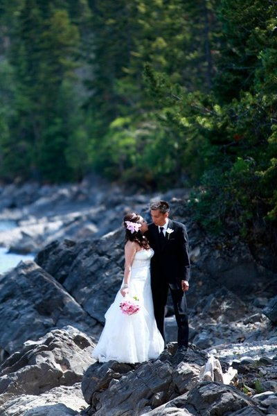 Wedding planned and designed by Smitten & Co. in Banff, Canada